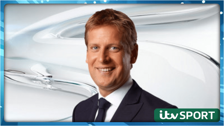 Ed Chamberlain - The new face of ITV Racing