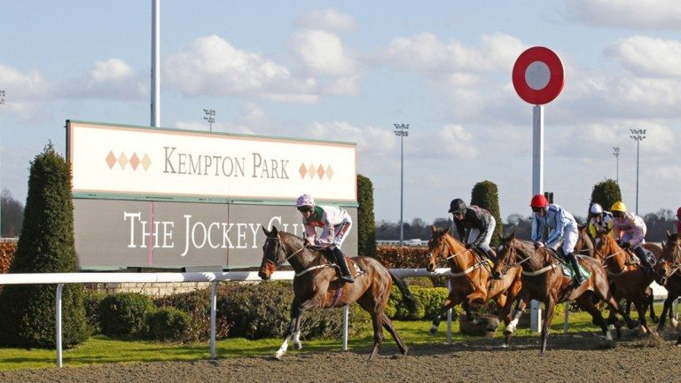 Kempton Park - The Clock is ticking