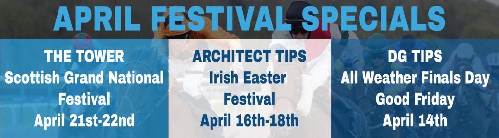 April Festival Specials