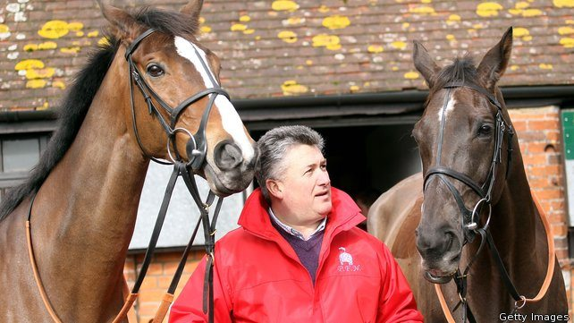 Best of mates, yet the fiercest of rivals - Kauto Star and Denman