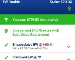 DG Tips and Snout Double Act!